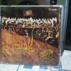 CDs de Música: ENTRE AMIGOS VUELTA ABAJO X ANIVERSARIO CD + DVD 2012 EDITA FONOGRAFICA ASTURIAS. Lote 177071570