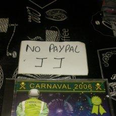CDs de Música: CARNAVAL CÁDIZ 2006 CHIRIGOTA LOS AGUAFIESTAS PRECINTADO. Lote 177072745