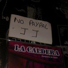 CDs de Música: CARNAVAL CÁDIZ CHIRIGOTA LA CALDERA PRECINTADO. Lote 177072938