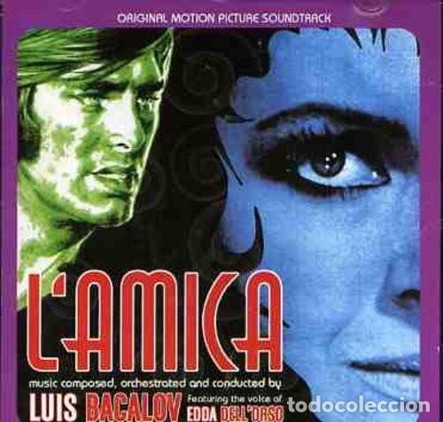 L'AMICA + LA SUPERTESTIMONE / LUIS BACALOV CD BSO (Música - CD's Bandas Sonoras)