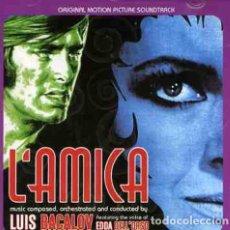 CDs de Música: L'AMICA + LA SUPERTESTIMONE / LUIS BACALOV CD BSO. Lote 177080539