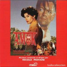 CDs de Música: AMOK + LE AMICHE DEL CUORE / NICOLA PIOVANI CD BSO. Lote 177080807