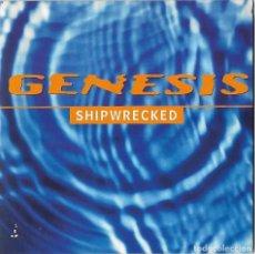 CDs de Música: GENESIS: SHIPWRECKED. ÉPOCA POP ROCK. CD SINGLE PROMOCIONAL. Lote 177087602