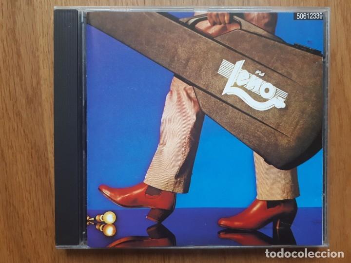 LEÑO - MÁS MADERA - CD - ZAFIRO - 1991 (Música - CD's Rock)
