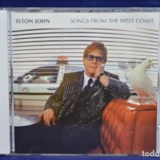 CDs de Música: ELTON JOHN - SONGS FROM THE WEST COAST - CD. Lote 177118214