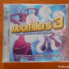 CDs de Música: CD FLOORFILLERS 3 - 40 MASSIVE HITS FROM THE CLUBS (2 CD'S) (9E). Lote 177131972