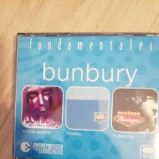 CDs de Música: BUNBURY / 3 CD / FUNDAMENTALES. Lote 177175112