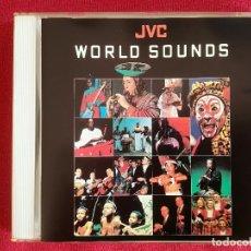 CDs de Música: JVC WORLD SOUNDS - INDIA JAPON TANZANIA SAMOA BULGARIA PARAGUAY. Lote 177184802