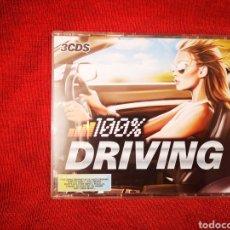 CDs de Música: 100% DRIVING 3CDS 60 FAST & FURIOUS ANTHEMS FEATURING DJ SAMMY, BOB SINCLAR, AXWELL, INGROSSO, ETC.. Lote 177200973