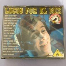 CDs de Música: CD LOCOS POR EL MIX, 2 CD'S. AÑO 1994. Lote 177210345