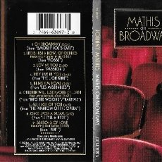 CDs de Música: JOHNNY MATHIS - MATHIS ON BROADWAY. Lote 177212085