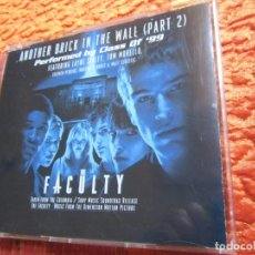 CDs de Música: ANOTHER BRICK IN THE WALL-PARTE 2- PERFORMED BY CLASS OF '99- B.S.O. THE FACULTY- NUEVO-ABIERTO. Lote 177213858