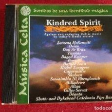CDs de Música: KINDRED SPIRIT - ORION DAN AR BRAZ MCKENNITT BARZAZ SKOLVAN ALTAN DEANTA IWAN KEMPER. Lote 177234445