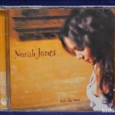 CDs de Música: NORAH JONES - FEELS LIKE HOME - CD. Lote 177239675
