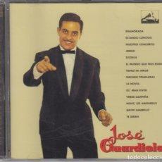 CDs de Música: JOSÉ GUARDIOLA CD HISTORIA DEL POP ESPAÑOL 1998 EMI GOLD. Lote 177300444