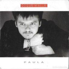 CDs de Música: COQUE MALLA: PAULA. CD SINGLE PROMOCIONAL. Lote 177305699
