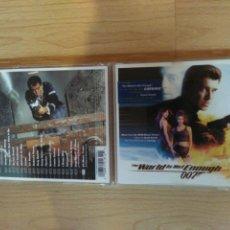 CDs de Música: CD - THE WORLD IS NOT ENOUGH (EL MUNDO NUNCA ES SUFICIENTE) DAVID ARNOLD BANDA SONORA. Lote 177321960