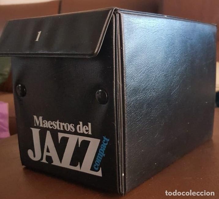 MAESTROS DEL JAZZ COFRE 1, CON 20 CD,- VER FOTOS (Música - CD's Jazz, Blues, Soul y Gospel)