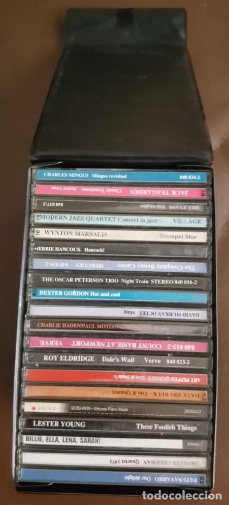 CDs de Música: MAESTROS DEL JAZZ COFRE 1, CON 20 CD,- VER FOTOS - Foto 2 - 177365975