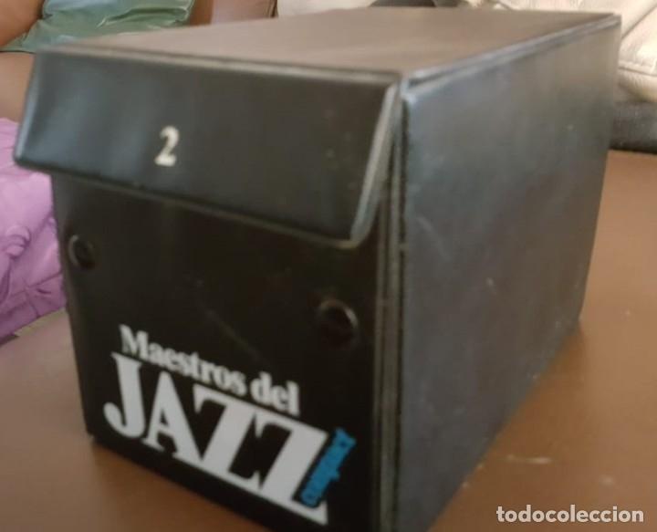 MAESTROS DEL JAZZ, COFRE 2,- 20 CD, VER FOTOS (Música - CD's Jazz, Blues, Soul y Gospel)