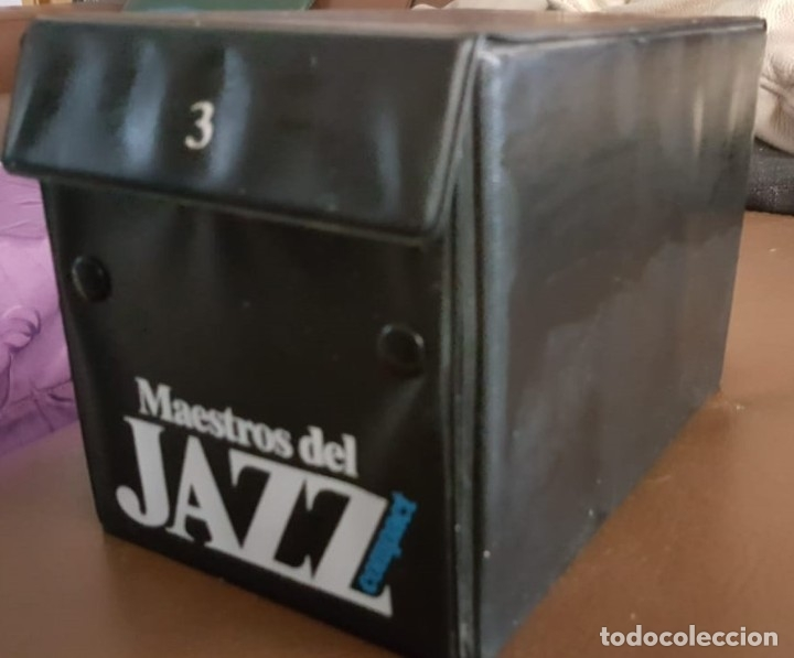 MAESTROS DEL JAZZ, COFRE 3, 20 CD, VER FOTOS (Música - CD's Jazz, Blues, Soul y Gospel)