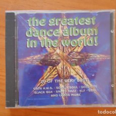 CDs de Música: CD THE GREATEST DANCE ALBUM IN THE WORLD (AC). Lote 177376819