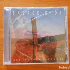 CDs de Música: CD SACRED DIDJ (AD). Lote 177379238