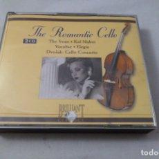 CDs de Música: THE ROMANTIC CELLO. ESTUCHE 2 CD´S BRILLIANT. Lote 177404850