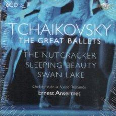 CDs de Música: CHAIKOVSKI: BALLETS COMPLETOS, ANSERMET 6 CDS, NUEVO PRECINTADO. Lote 177405680