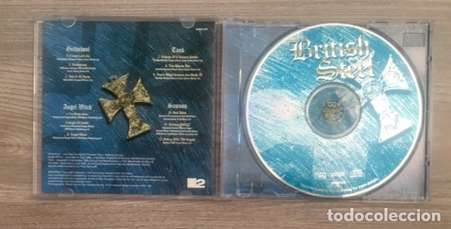 CDs de Música: BRITISH STEEL - GIRLSCHOOL - SAMSON, TANK. ANGEL WITCH - Foto 2 - 177416887