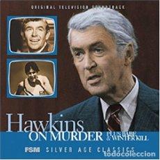 CDs de Música: HAWKINS ON MURDER + WINTER KILL + BABE / JERRY GOLDSMITH CD BSO - FSM. Lote 177434878