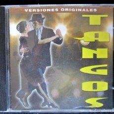 CDs de Música: TANGOS - 13 TEMAS - VERSIONES ORIGINALES - PIAZZOLLA, GARDEL, EDMUNDO RIVERO, ROSANNA FALASCA. CD. Lote 177436229
