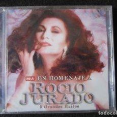 CDs de Música: ROCIO JURADO - 5 GRANDES ÉXITOS - PRECINTADO - CD. Lote 177436325