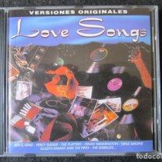 CDs de Música: LOVE SONG - 12 TEMAS ORIGINALES - BEN E. KING, PERCY SLEDGE, THE PLATTERS, LESLIE GORE, NINA SIMONE.. Lote 177436397