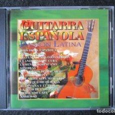 CDs de Música: GUITARRA ESPAÑOLA - PASION LATINA - 14 TEMAS - CD. Lote 177436480