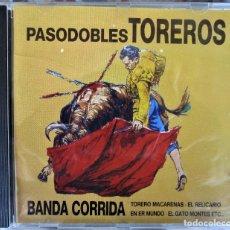 CDs de Música: PASODOBLES TOREROS - 10 TEMAS - CD. Lote 177436492
