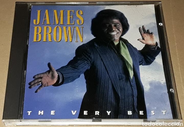 CD - JAMES BROWN - THE VERY BEST - CD UNOFFICIAL (Música - CD's Jazz, Blues, Soul y Gospel)
