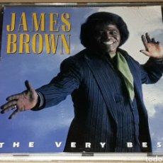 CDs de Música: CD - JAMES BROWN - THE VERY BEST - CD UNOFFICIAL. Lote 177451953