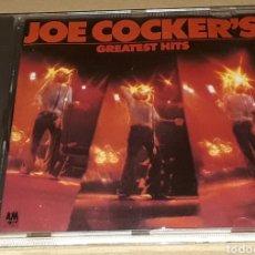 CDs de Música: CD - JOE COCKER - GREATEST HITS - MADE IN USA - JOE COCKER'S GREATEST HITS. Lote 177452183