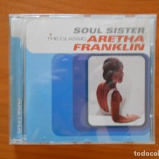 CDs de Música: CD SOUL SISTER - THE CLASSIC - ARETHA FRANKLIN (5R). Lote 177467669