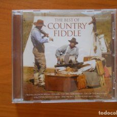 CDs de Música: CD THE BEST OF COUNTRY FIDDLE - ORANGE BLOSSOM SPECIAL, COTTON-EYED JOE, TOM DOOLEY... (5R). Lote 177468989
