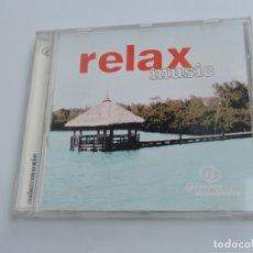 CDs de Música: RELAX MUSIC GENEROS MUSICALES CD . Lote 177474330