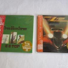 CDs de Música: ZZ TOP - LOTE 2 (TRES HOMBRES + ELIMINATOR) 2013 JAPAN MINI LP SHM CD. Lote 177479509