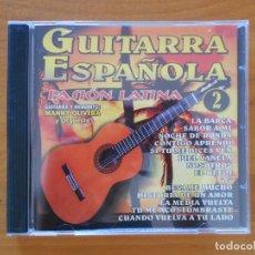 CDs de Música: CD GUITARRA ESPAÑOLA - PASION LATINA 2 (6H). Lote 177481294
