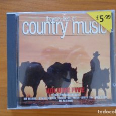CDs de Música: CD THE VERY BEST OF COUNTRY - VOLUME FIVE - DON WILLIAMS, THE EVERLY BROTHERS, ALABAMA... (AW). Lote 177481683