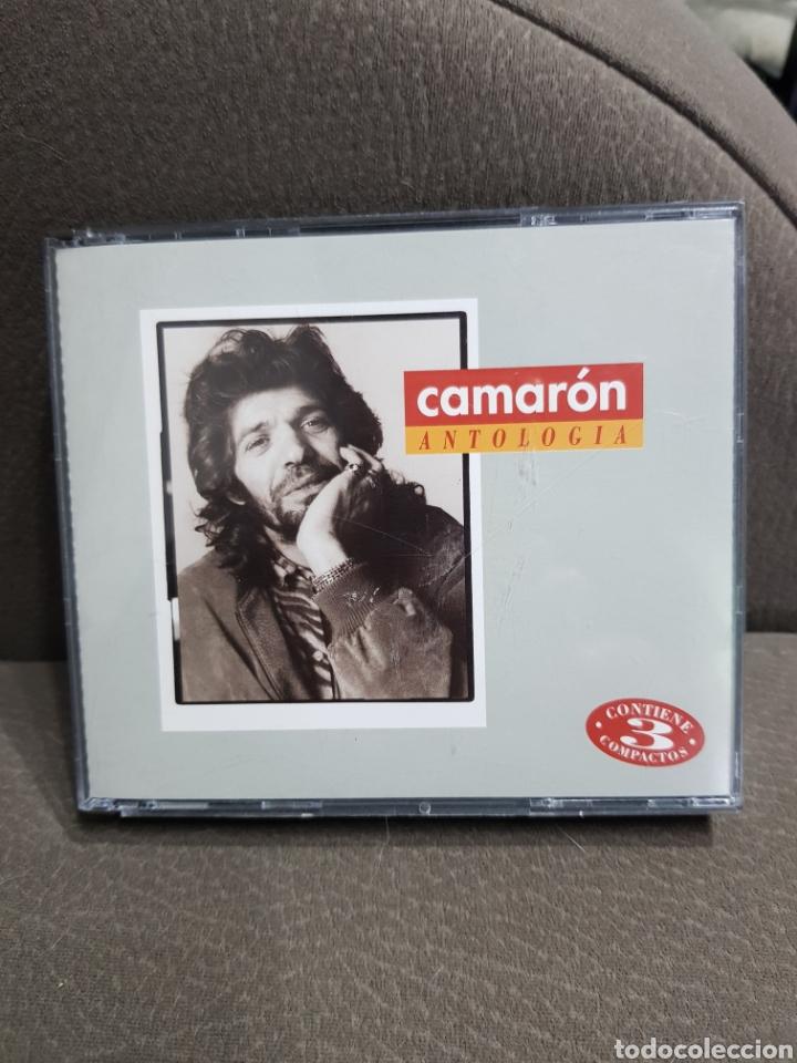 CAMARON ANTOLOGIA 3 CD'S 1996 (Música - CD's Flamenco, Canción española y Cuplé)