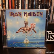 CDs de Música: IRON MAIDEN - SEVENTH SON OF A SEVENTH SON. Lote 177505070