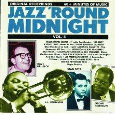 CDs de Música: JAZZ ROUND MIDNIGHT - CD - RARO. Lote 177516290