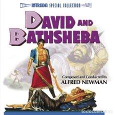 CDs de Música: DAVID & BATHSHEBA / ALFRED NEWMAN CD BSO - INTRADA. Lote 177518644