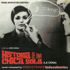 CDs de Música: HISTORIA DE UNA CHICA SOLA (LA CENA) / ANGELO FRANCESCO LAVAGNINO CD BSO - QUARTET. Lote 177519464